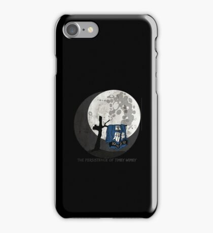 The Persistence of Timey Wimey Grunge iPhone Case/Skin