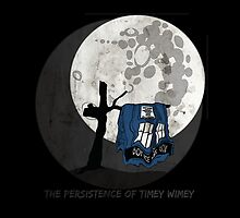 The Persistence of Timey Wimey Grunge - Black by Silverepiphany