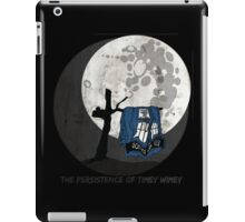 The Persistence of Timey Wimey Grunge - Black iPad Case/Skin