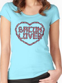 Bacon Lover Women's Fitted Scoop T-Shirt