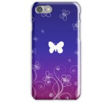 Swirling Butterflies Case iPhone Case/Skin