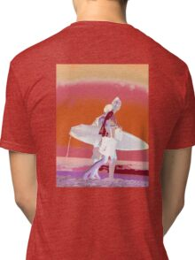 Surf Long sleeve Shirt surf class design  Tri-blend T-Shirt