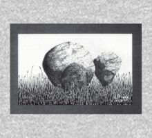 Boulders in the Grass Kids Tee