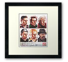 The Biffs Framed Print