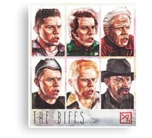 The Biffs Canvas Print