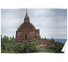 bagan landscape Poster