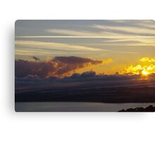 Sunrise over St Ives Bay Canvas Print