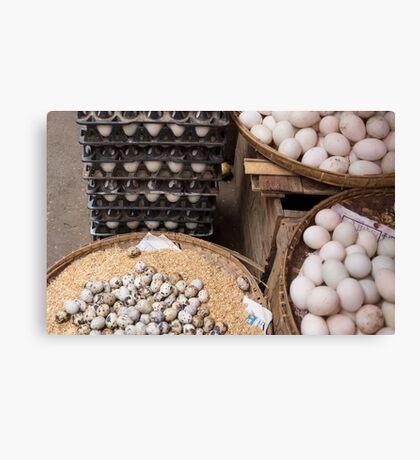 eggs Canvas Print