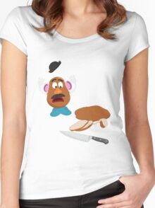 Awful Truth Women's Fitted Scoop T-Shirt