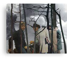 Encuentro En Adipose Bosque Canvas Print