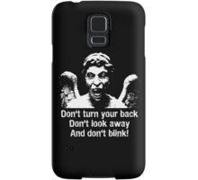 Weeping Angel, Don't Blink... Samsung Galaxy Case/Skin