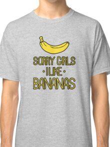 sorry girls i suck dick Classic T-Shirt