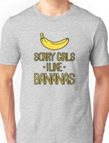 sorry girls i suck dick Unisex T-Shirt
