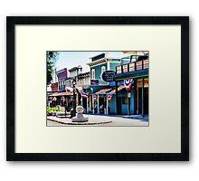 Folsom, California Framed Print