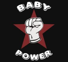 Baby Power Onesie by Samuel Sheats