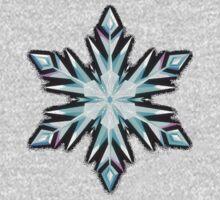 Disney Frozen Elsa's Snowflake by nyanja