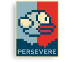 Flappy Bird - Persevere Canvas Print