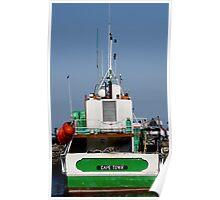 Boats at Work Poster