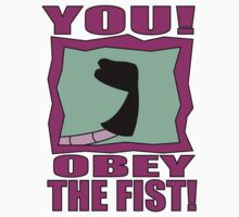 Obey the Fist! Kids Clothes