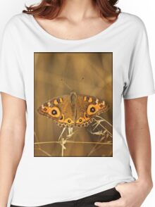 Meadow Argus butterfly Women's Relaxed Fit T-Shirt