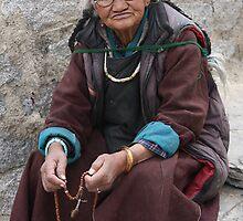 Old Woman of Lamayaru by opensea
