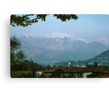 Bellagio from Tremizzo Italy 198404250046 Canvas Print