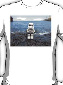Dave Stormtrooper Tenerife at Beach T-Shirt