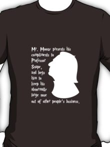 Snape's Abnormally Large Nose T-Shirt