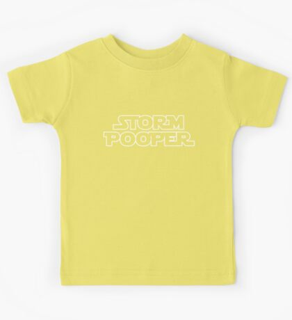 Storm Pooper Kids Tee
