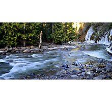 Winter Cascades Cascades Photographic Print