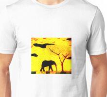 Lone Elephant Unisex T-Shirt