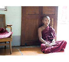 sitting Photographic Print