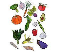 vegetables Photographic Print
