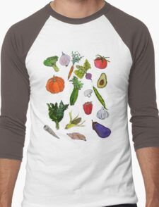 vegetables Men's Baseball ¾ T-Shirt