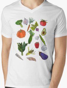 vegetables Mens V-Neck T-Shirt