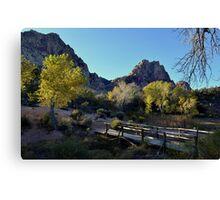 Spring Mountain Ranch Canvas Print
