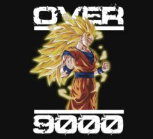 Goku Super Saiyan 4 - Over 9000 by Cemre61