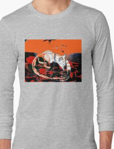 cats collection in the desert hoodie Long Sleeve T-Shirt