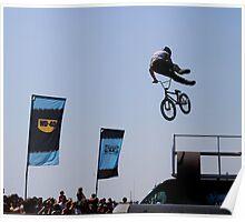 BMX stunt Poster