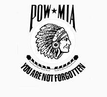 POW-MIA-NA (Black Lettering) Unisex T-Shirt