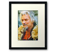Viking Groom Framed Print