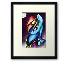 Shadow of a Rainbow Framed Print