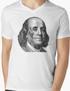 COLD HUNNID  Mens V-Neck T-Shirt
