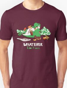Whatever I don't Care Yoshi Unisex T-Shirt