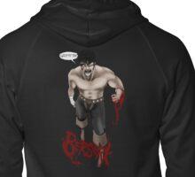 Berserk: Guts Hoodie Design Zipped Hoodie