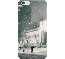 Winter Night - 5th Avenue - New York City iPhone Case/Skin