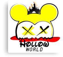 Hollow World Logo  Canvas Print
