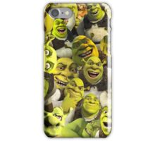 Shrek Collage  iPhone Case/Skin