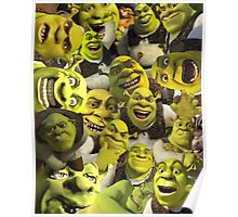 Shrek Collage  Poster