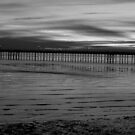 Grey Southend pier by Perggals© - Stacey Turner
